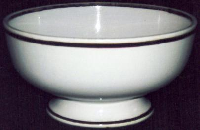 Grindley - Plain Round - Tea Leaf - Bowl (oyster)