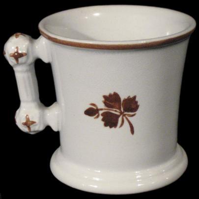J and E Mayer - King Charles II - Tea Leaf - Mug Shaving