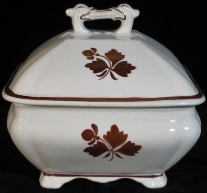 John Edwards - Victory Shape - TL - Butter Dish