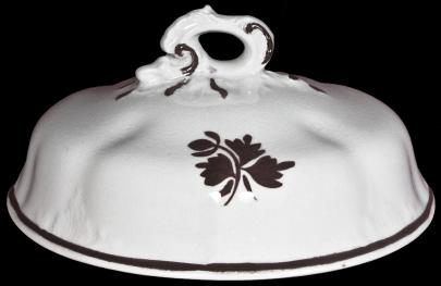 Johnson Brothers - Acanthus - Tea Leaf - Butter Dish Lid