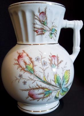Knowles, Taylor Knowles - Ionic - Moss Rose - Hot Water Pitcher