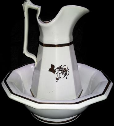 Livesley and Powell - Classic Gothic - TB - Basin and Ewer