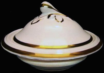 Livesley Powell - Fig and Leaf - LB - Butter Dish