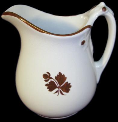 Pankhurst - Rosetta - Tea Leaf - Creamer
