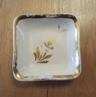 Pioneer Pottery - Simple Square - Serving Pieces - TL - Butter Pat
