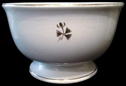 Powell & Bishop - Plain Round - Tea Leaf - Punch Bowl