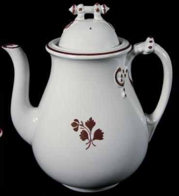 Thomas Furnival - Cable Shape - TL - Teapot