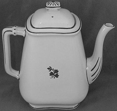 Thomas Furnival - Little Cable - Tea Leaf - Teapot