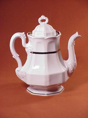 Jacob Furnival - Walled Octagon - Lustre Band - Teapot