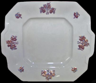 Unknown - Classic Gothic - Chelsea Grape - Cake Plate
