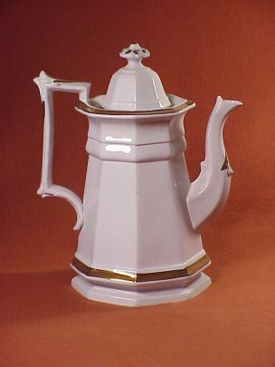 Unknown - Classic Gothic - Lustre Band - Teapot