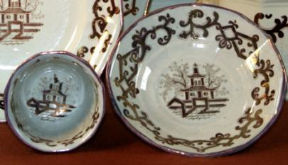 Unknown - Classic Gothic - Pagoda - Cup and Saucer