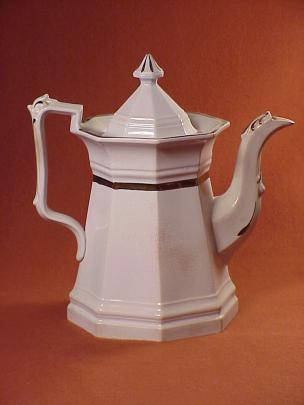 Jacob Furnival - Full Panelled Gothic - Lustre Band - Teapot