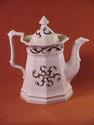 Jacob Furnival - Full Panelled Gothic - Pinwheel - Teapot
