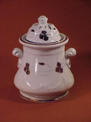 Unknown - Swags and Scroll - Pre-Tea Leaf - Sugar Bowl