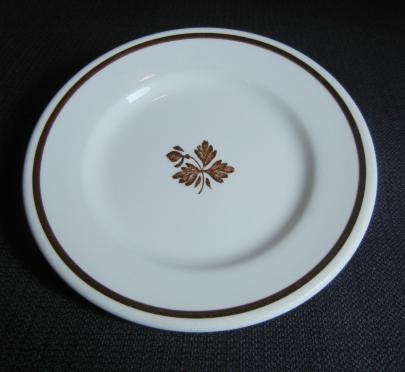 Walker - Plain Round - Tea Leaf - Plate - 6 in