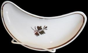 Wedgwood - Plain Round - Tea Leaf - Bone Dish