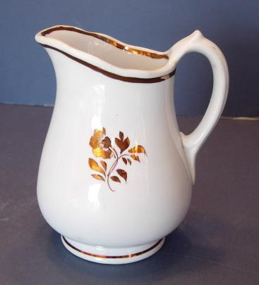 Wileman - Richelieu Shape - Morning Glory - Creamer