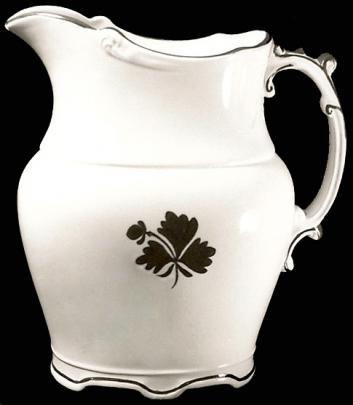 Wilkinson - Maidenhair Fern - Tea Leaf - Creamer