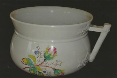 Wilkinson Late R. Alcock - Bow Knot - Moss Rose - Chamber Pot