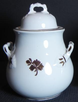 Wilkinson Late R. Alcock - Hawthorn - Tea Leaf - Sugar Bowl - large