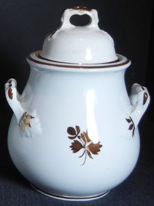 Wilkinson Late R. Alcock - Hawthorn - Tea Leaf - Sugar Bowl - small