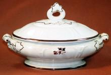 William Adams - Huron Shape - Tea Leaf - Vegetable Tureen