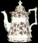 Walley - Classic Gothic - Palissy - Teapot