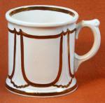 Walley - Niagara Shape - Lustre Band - Mug