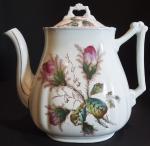 Wedgwood - Chelsea - Moss Rose -  Teapot